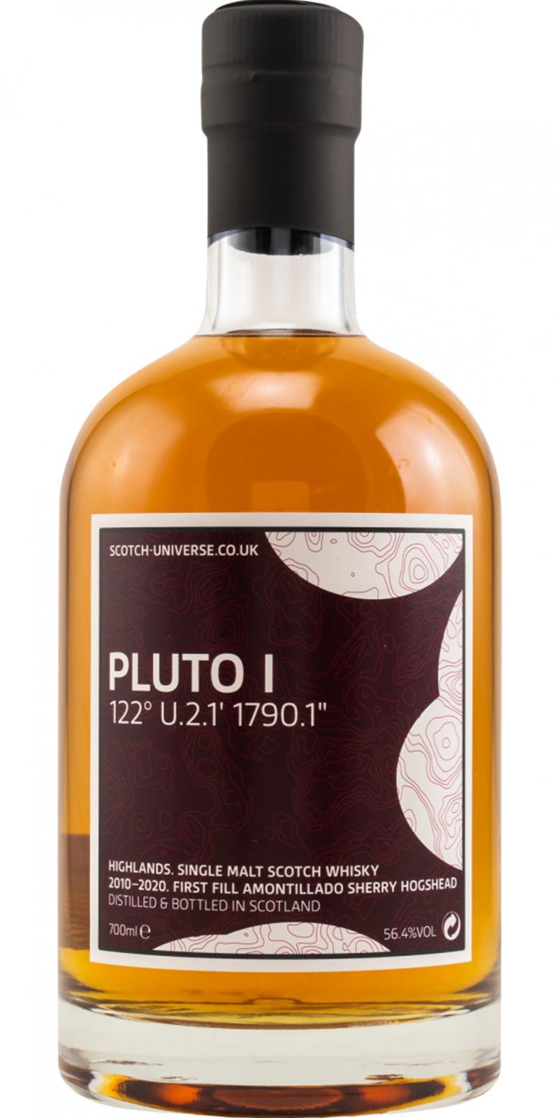 "Scotch Universe Pluto I - 122° U.2.1' 1790.1"""