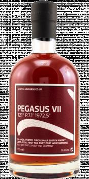 "Scotch Universe Pegasus VII - 121° P.7.1' 1972.5"""