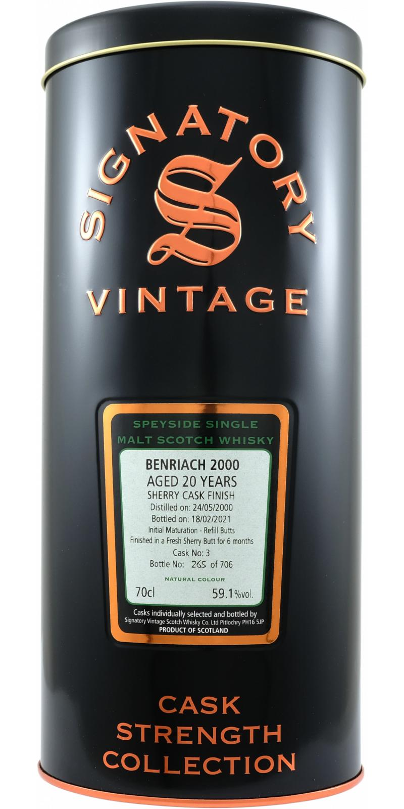 BenRiach 2000 SV