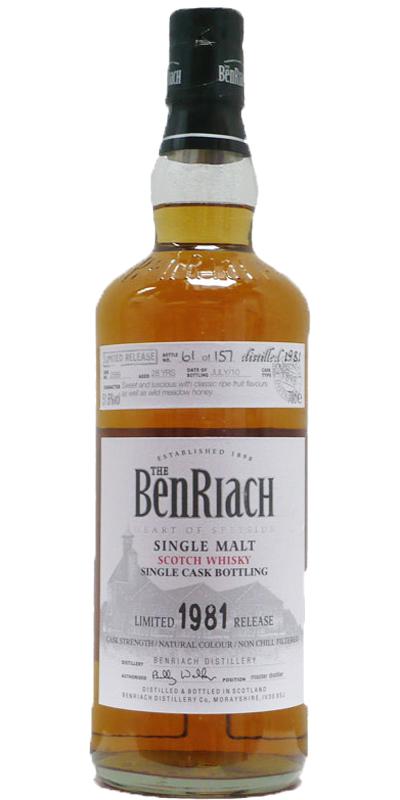 BenRiach 1981