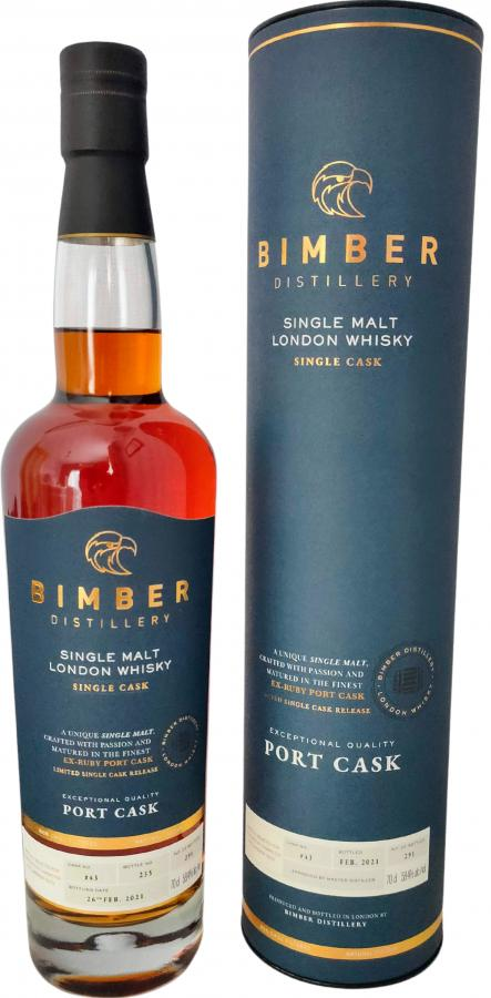 Bimber Single Malt London Whisky