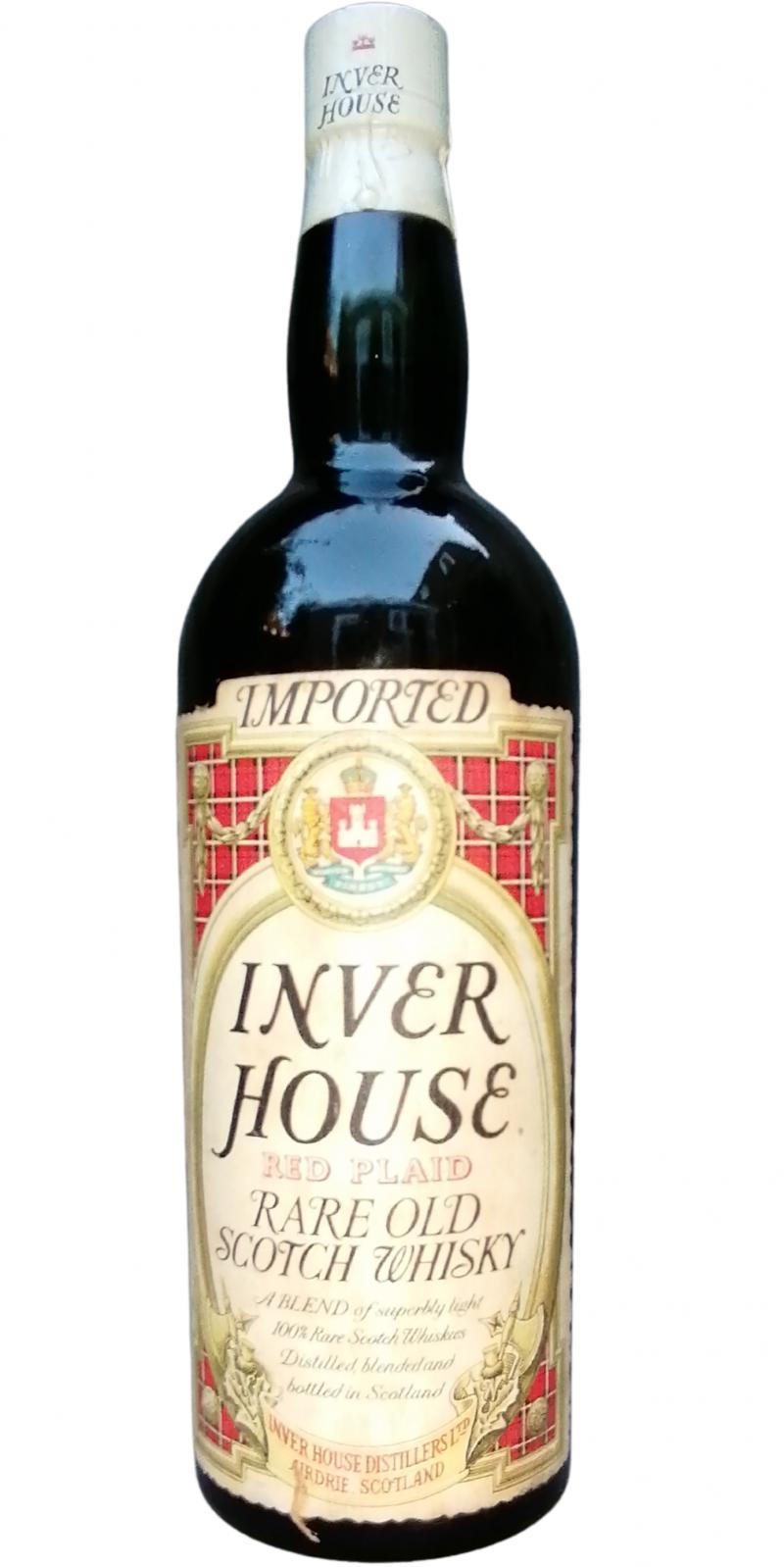 Inver House Red Plaid