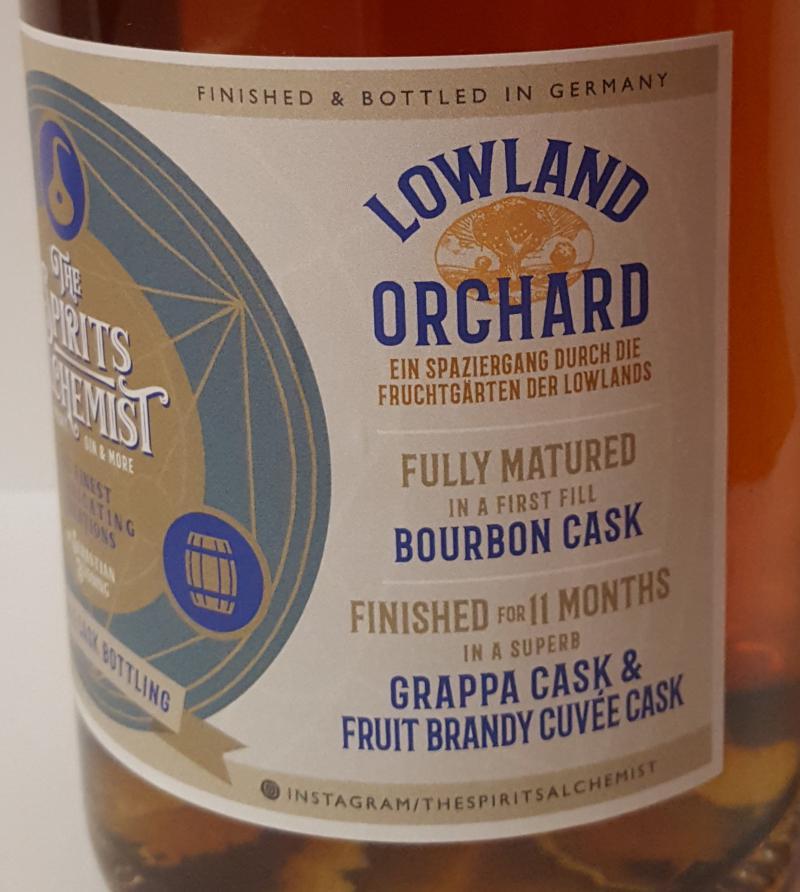 Secret Lowland Lowland Orchard TSA