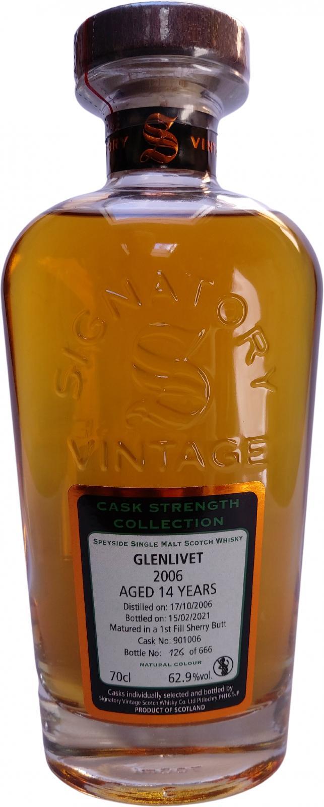 Glenlivet 2006 SV