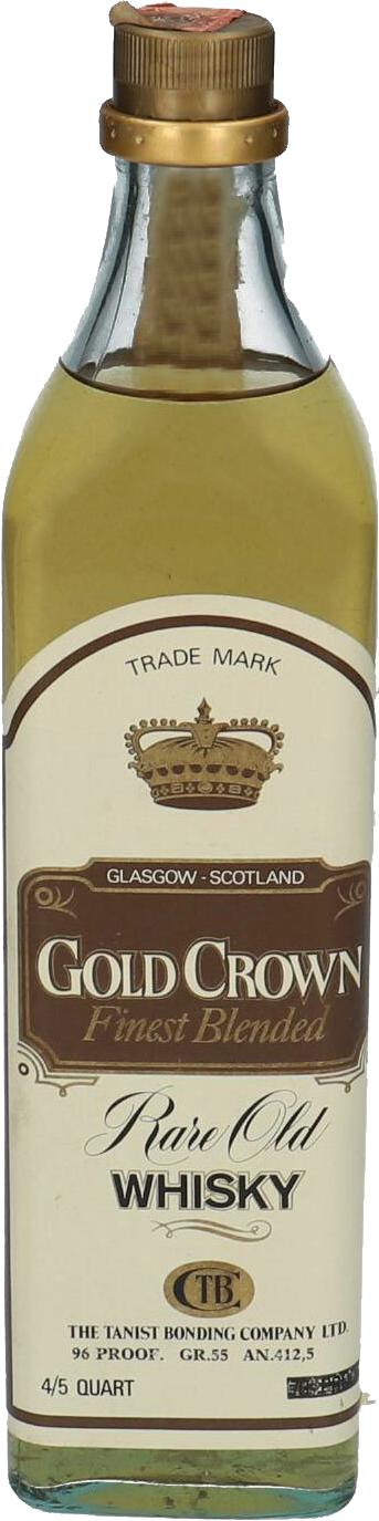 Gold Crown Rare Old Whisky