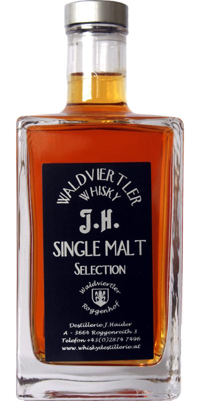 Waldviertler Whisky J.H. Single Malt