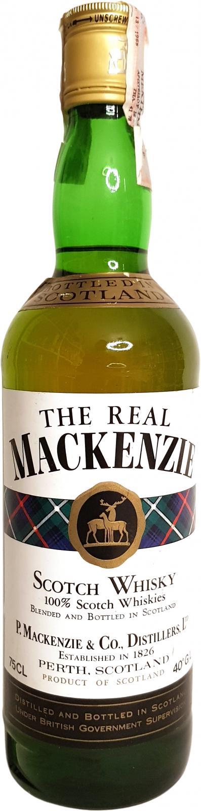 The Real Mackenzie Scotch Whisky
