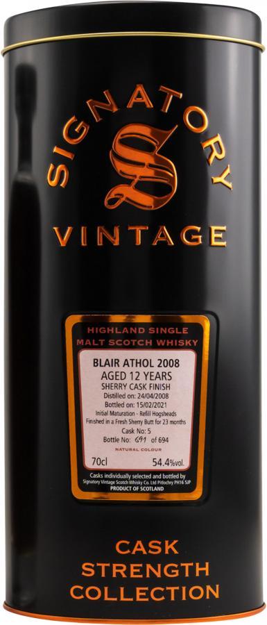 Blair Athol 2008 SV
