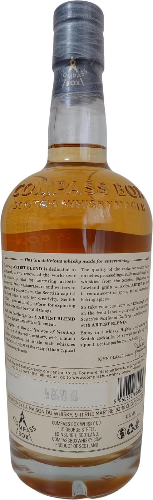 Artist Blend Scotch Whisky