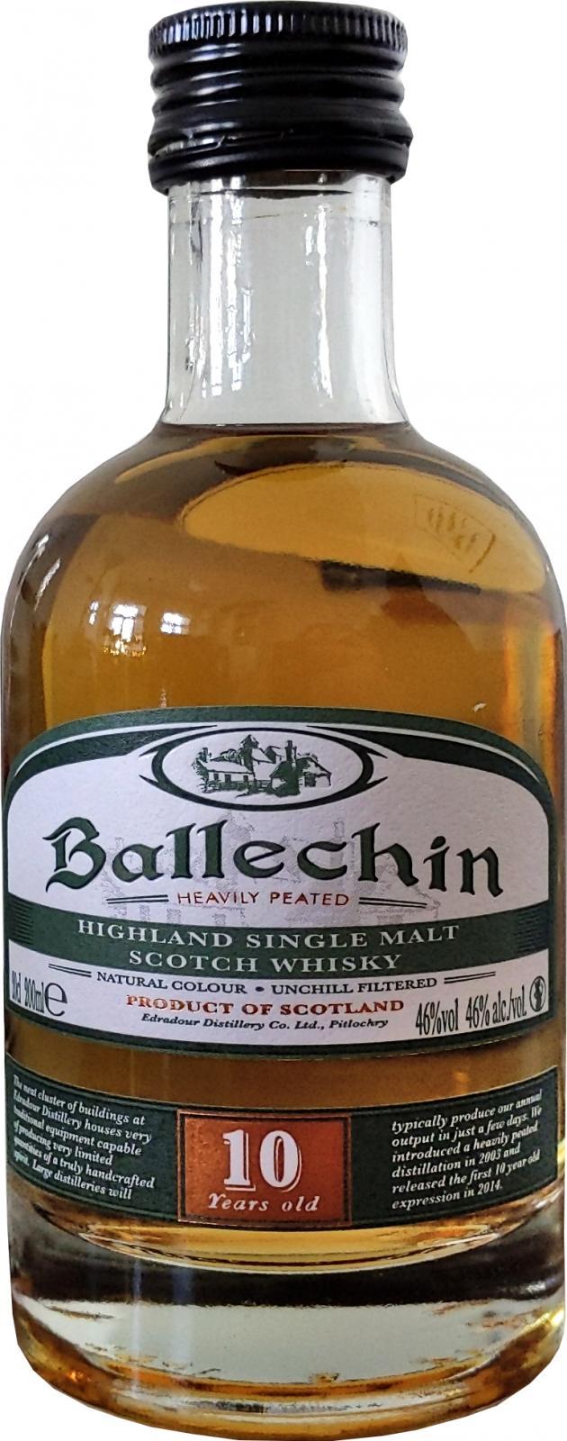 Ballechin 10-year-old