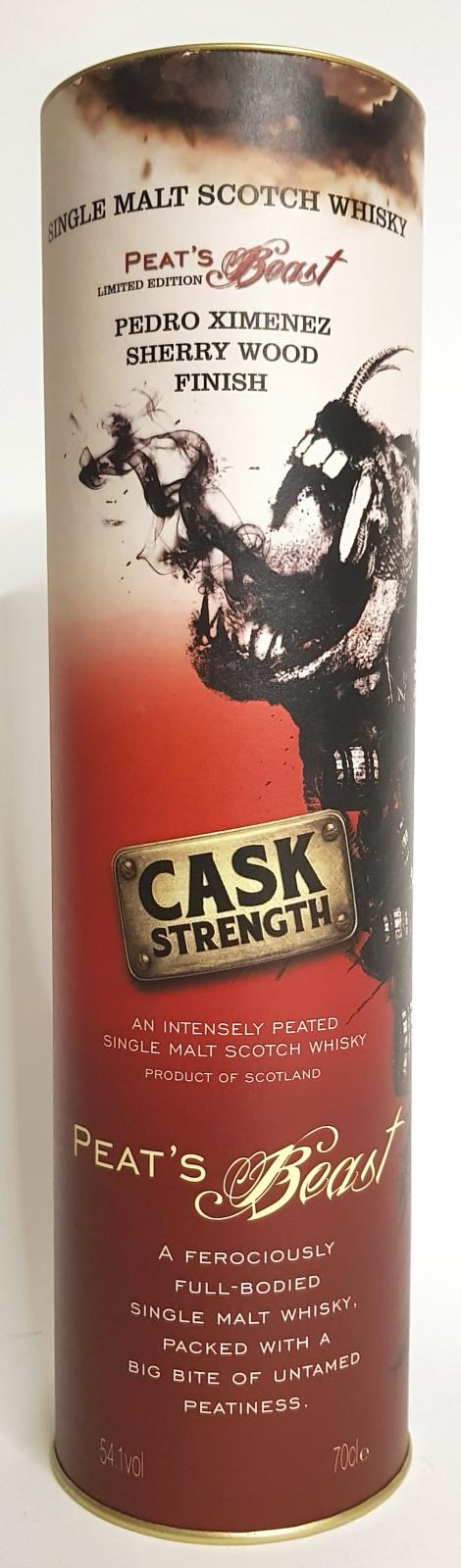 Peat's Beast Cask Strength FF