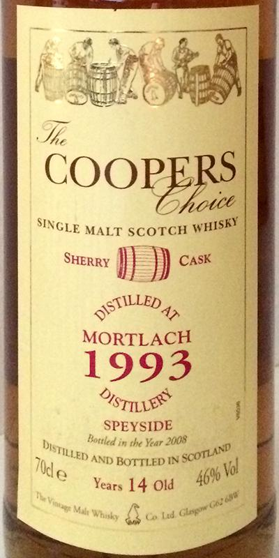 Mortlach 1993 CC Sherry