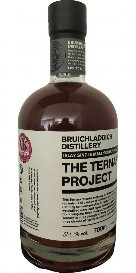 Bruichladdich The Ternary Project