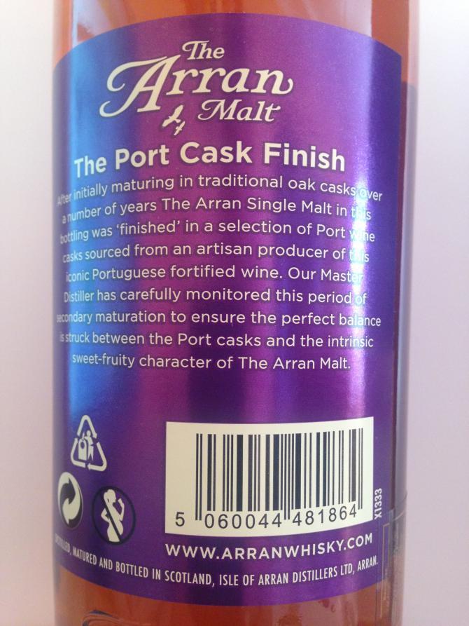 Arran Port Cask Finish