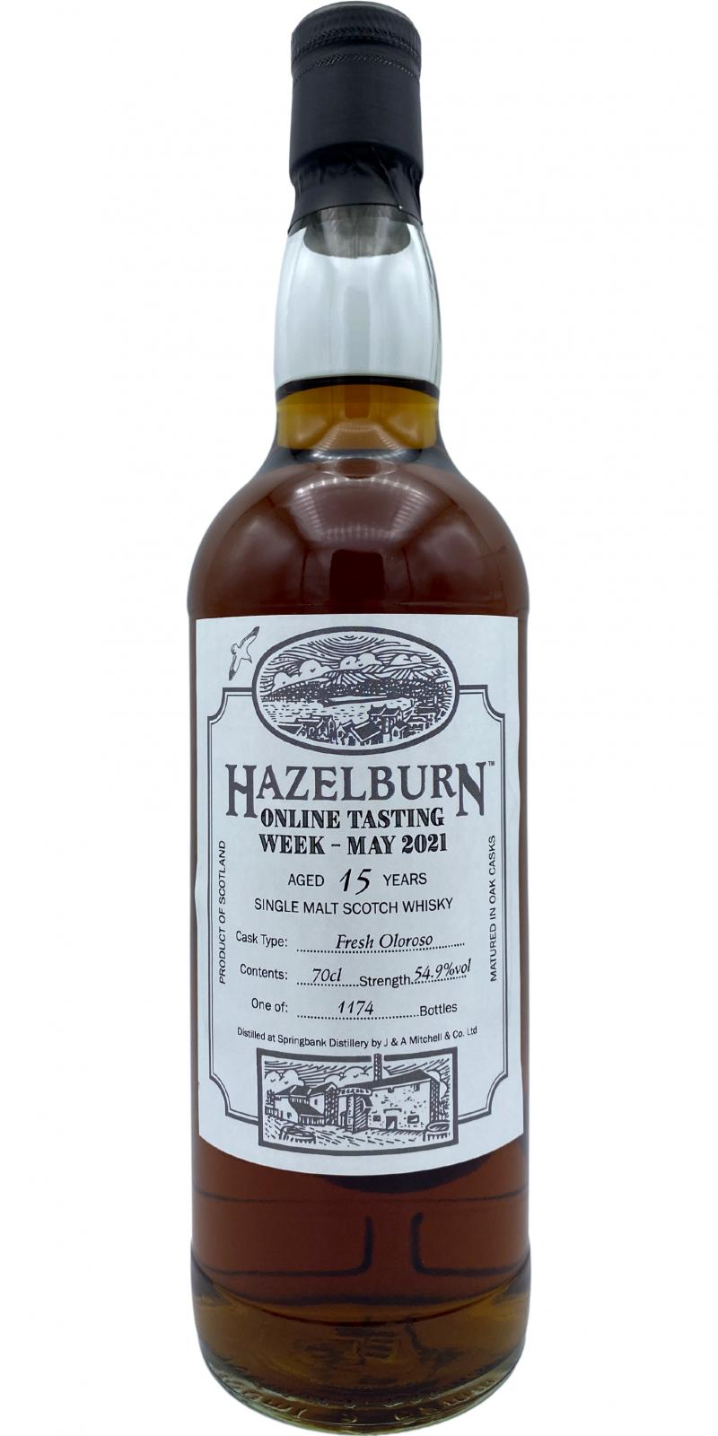 Hazelburn 15-year-old