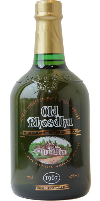 Old Rhosdhu 1967