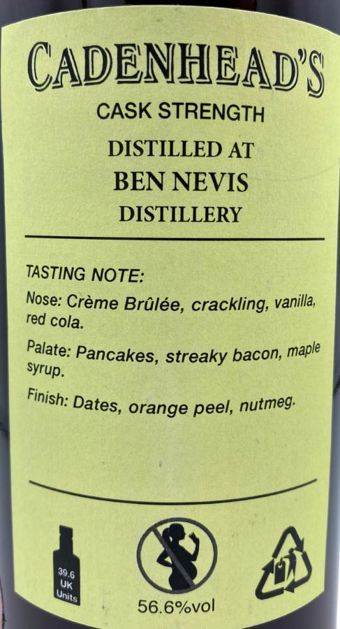 Ben Nevis 2012 CA