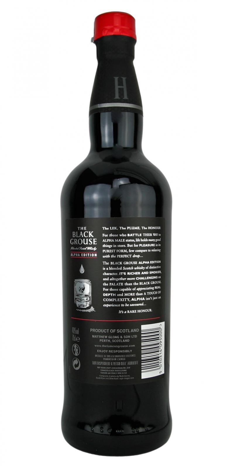 The Black Grouse Alpha Edition