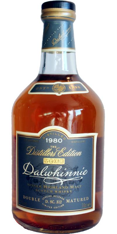 Dalwhinnie 1980