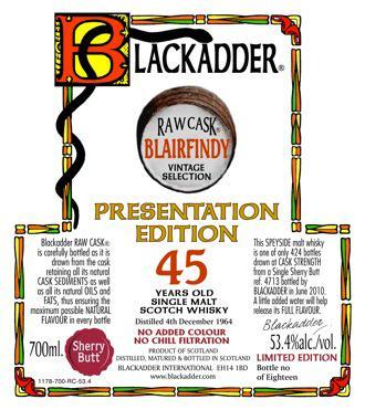 Blairfindy 1964 BA Presentation Edition