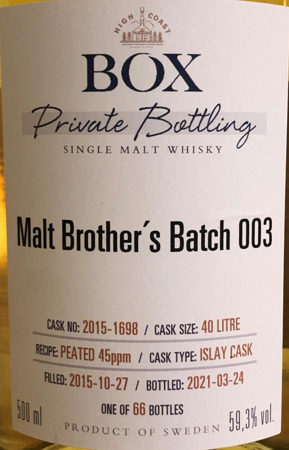 Box 2015 - Malt Brother's Batch 3