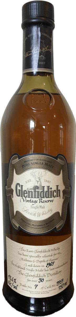 Glenfiddich 1967