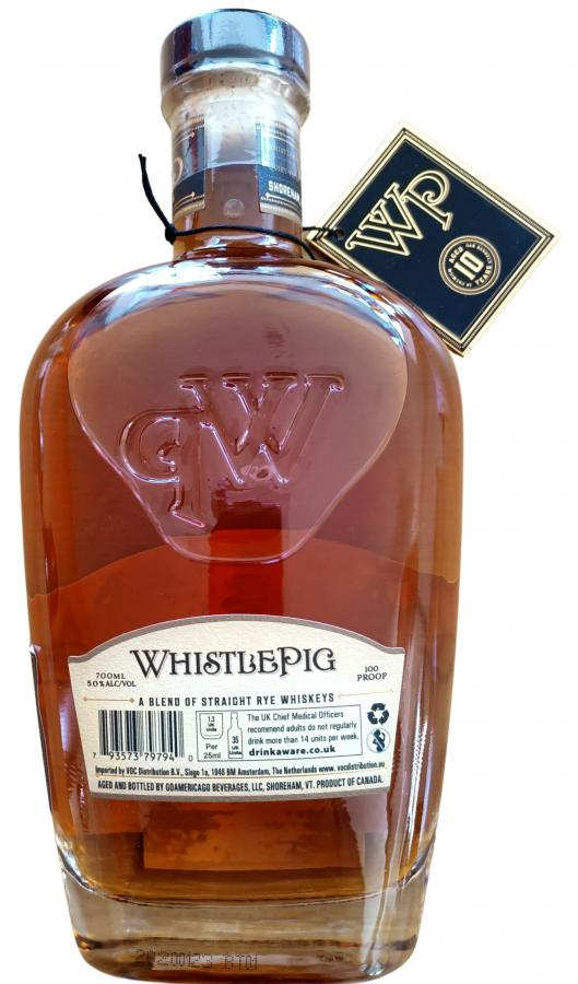 WhistlePig 10-year-old