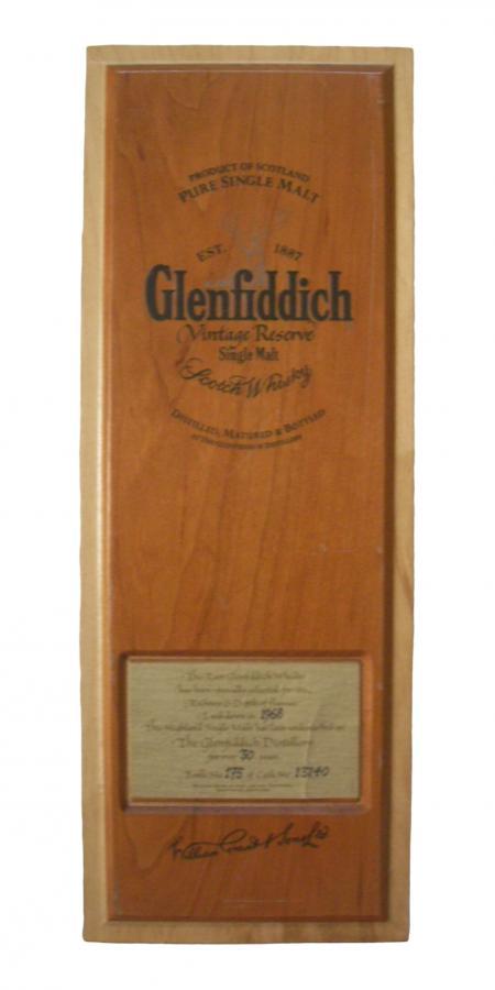 Glenfiddich 1968
