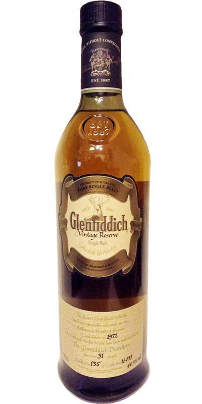 Glenfiddich 1972