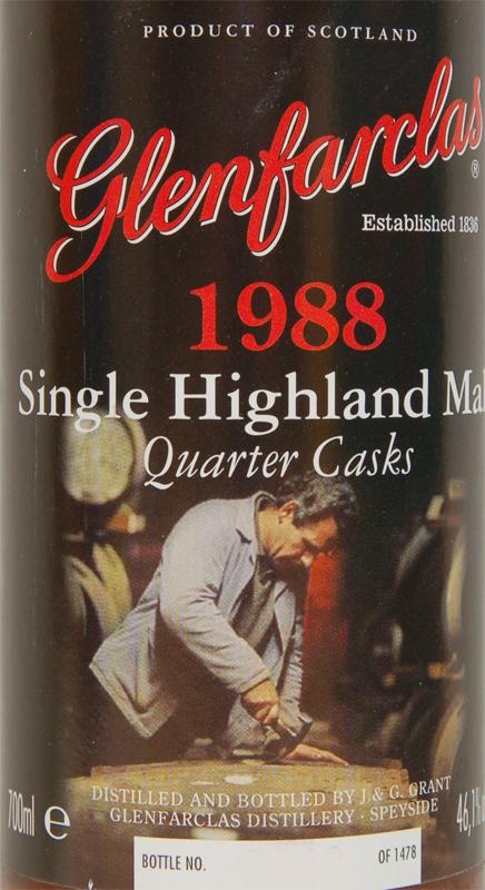 Glenfarclas 1988 Quarter Casks