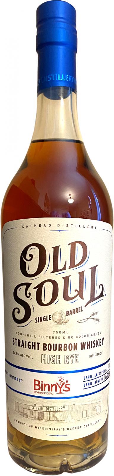 Cathead Distillery Old Soul