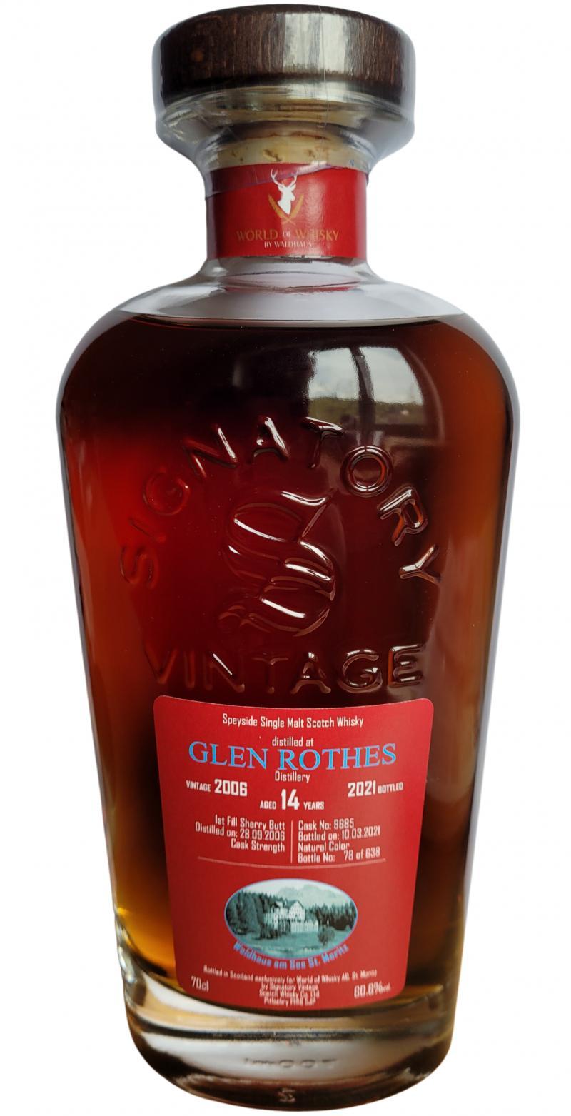 Glenrothes 2006 SV