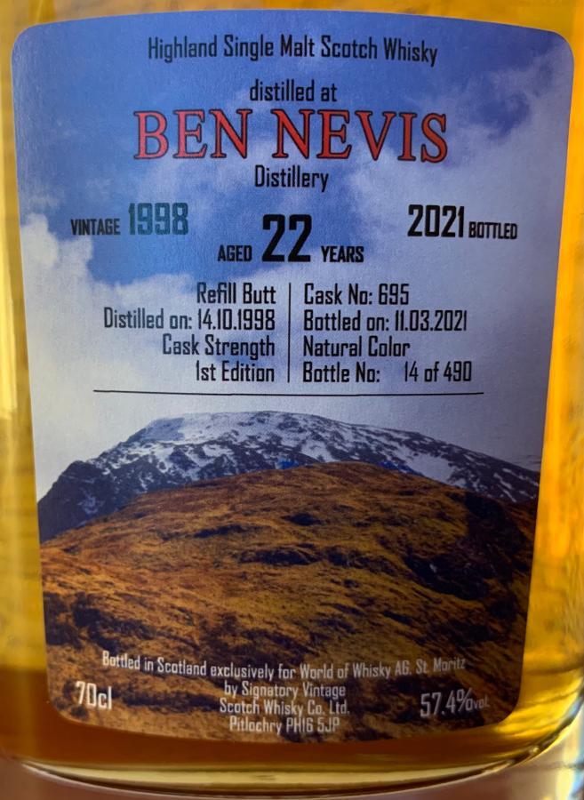 Ben Nevis 1998 SV