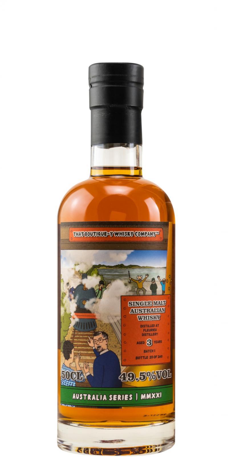 Fleurieu Distillery Batch 1 TBWC