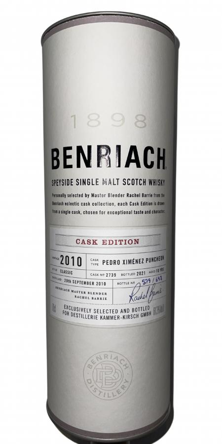 BenRiach 2010