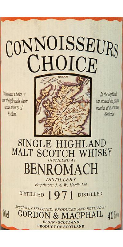 Benromach 1971 GM