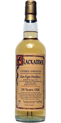 Glen Elgin 1975 BA