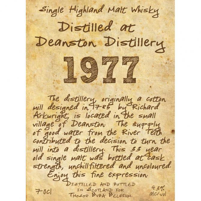 Deanston 1977 TI