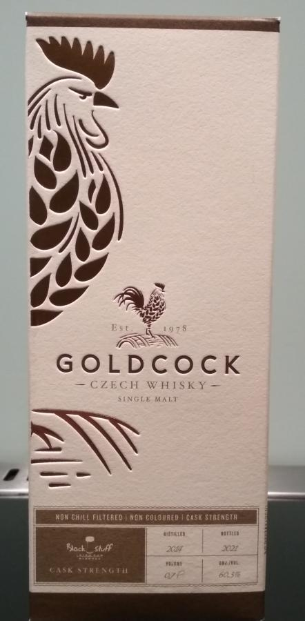 Gold Cock 07-year-old