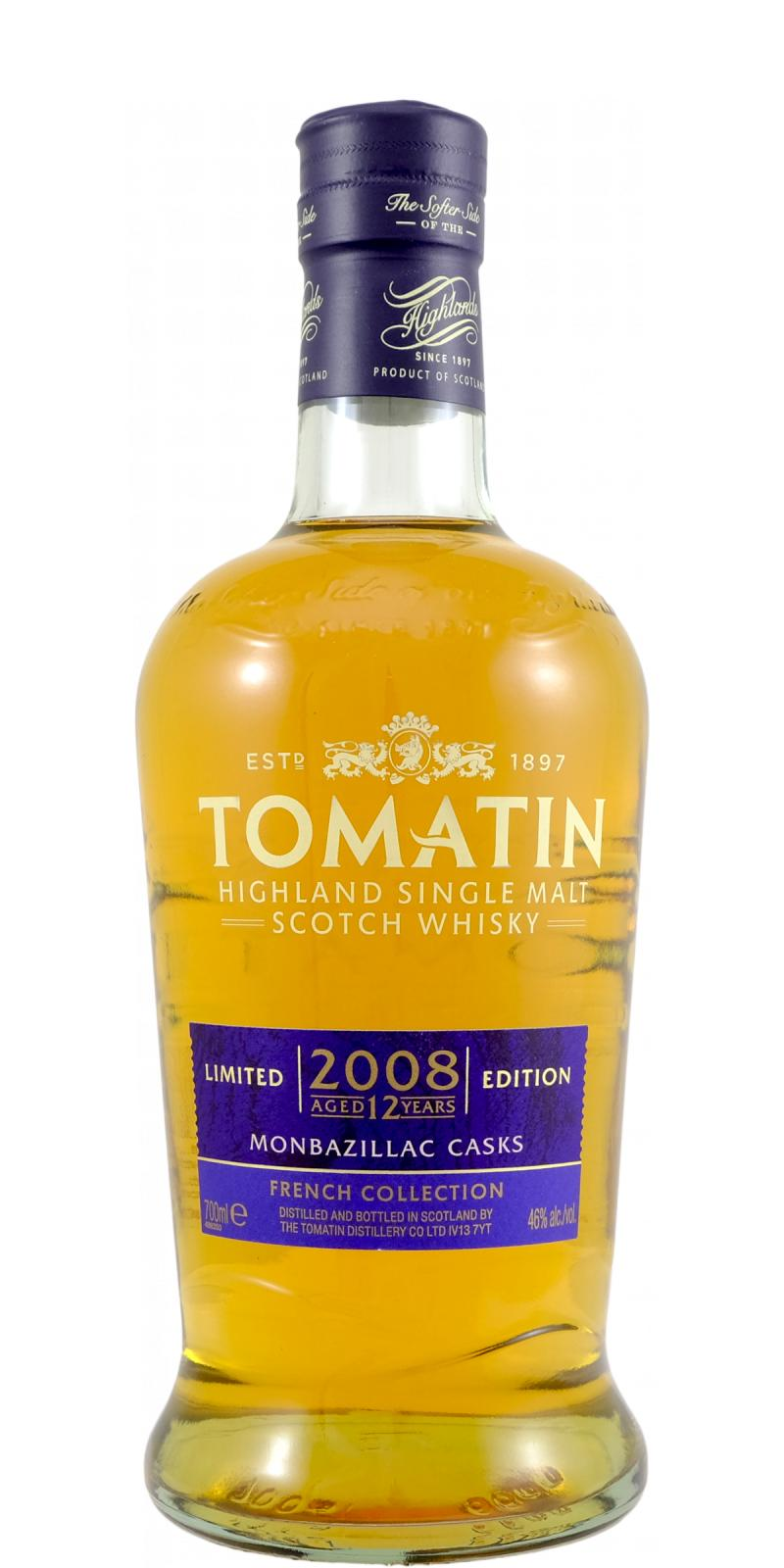 Tomatin 2008