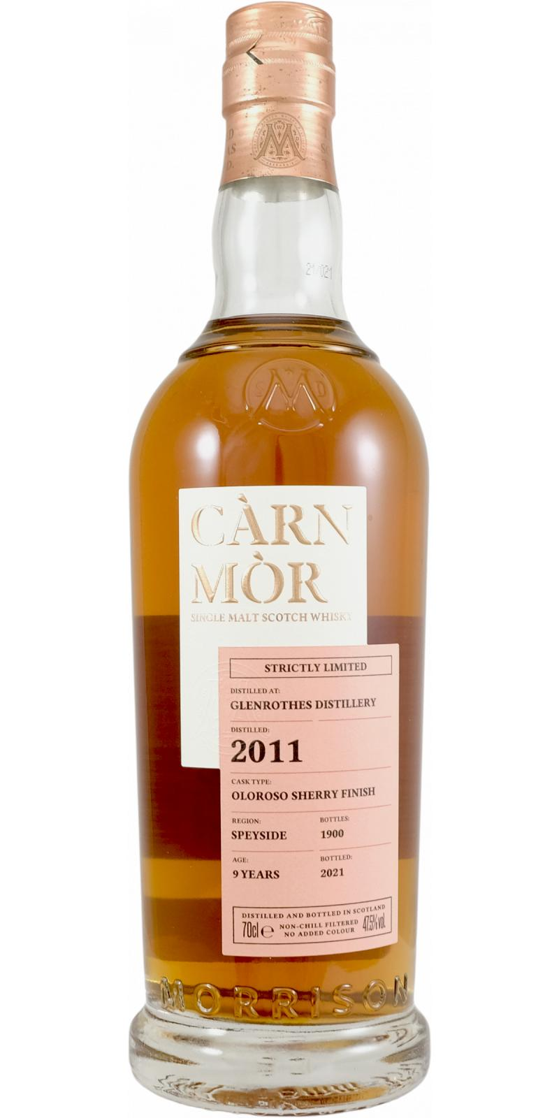 Glenrothes 2011 MSWD