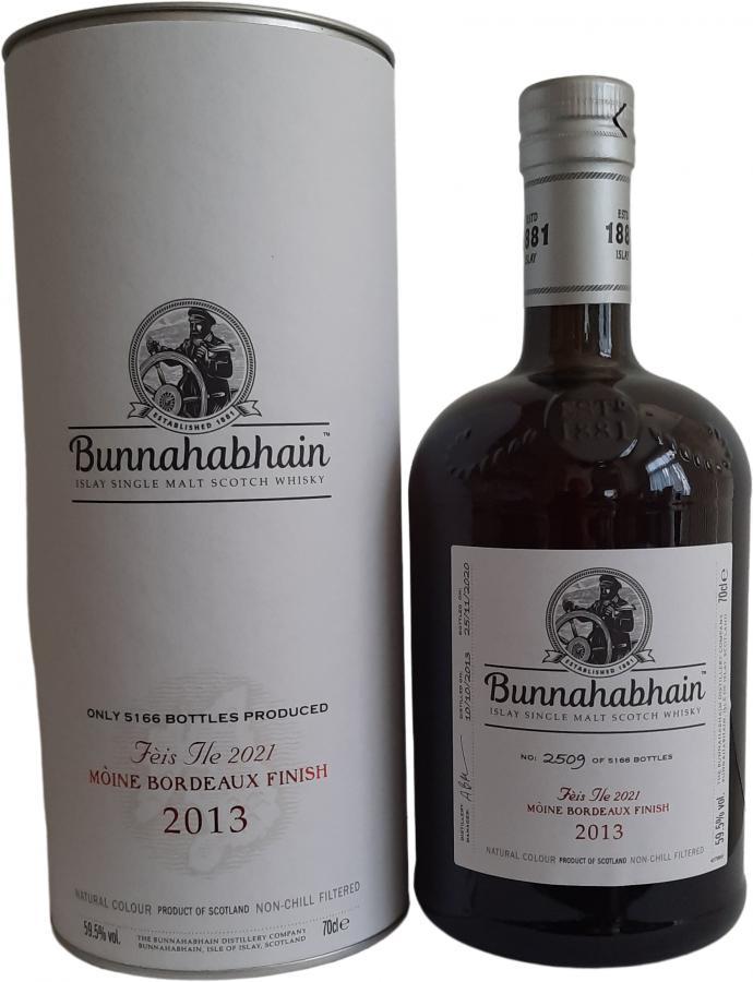 Bunnahabhain 2013 Mòine