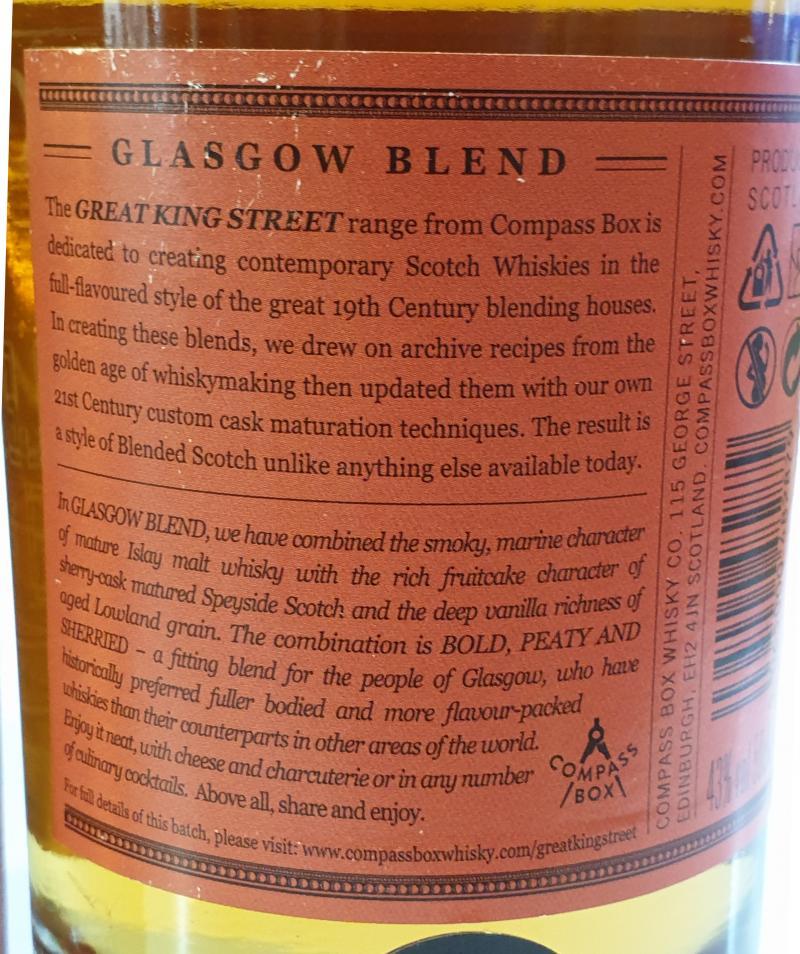 Great King Street Glasgow Blend