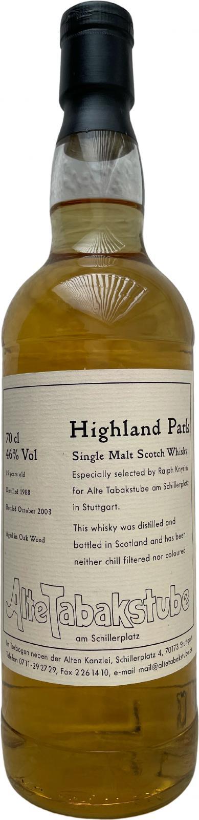 Highland Park 1988 AT