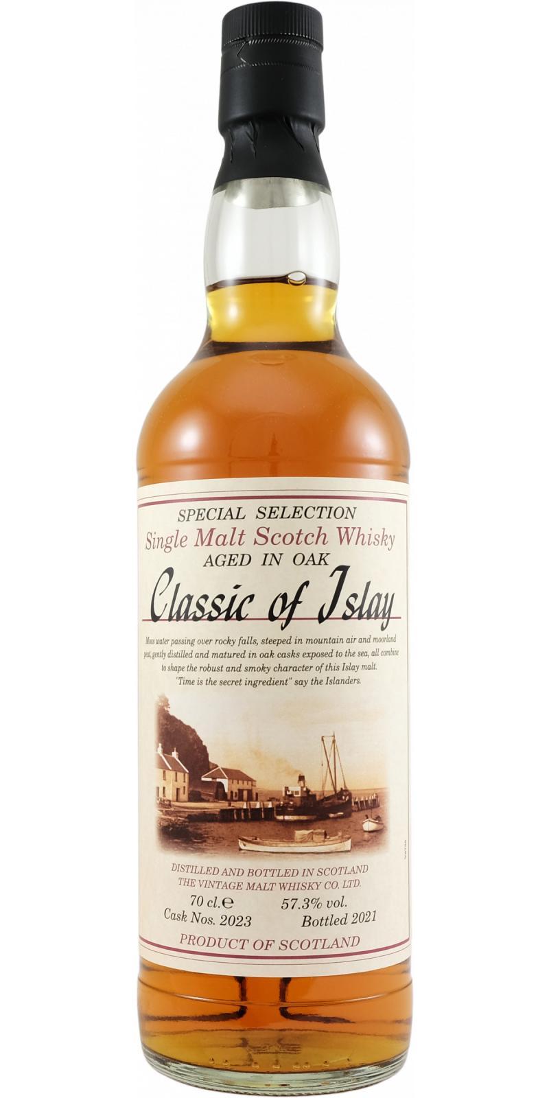 Classic of Islay Vintage 2021 JW