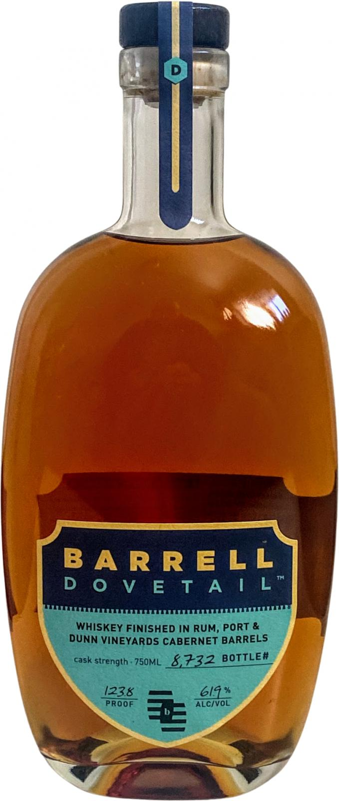 Barrell Whiskey Dovetail