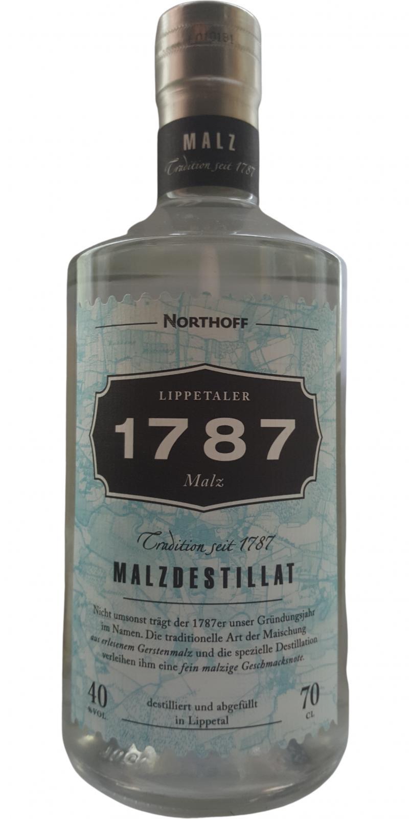 1787 Malzdestillat