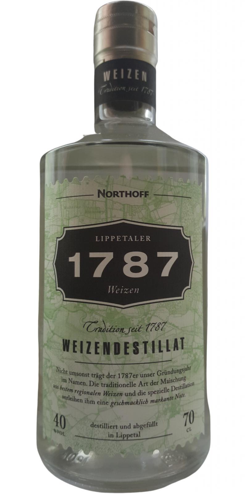 1787 Weizendestillat