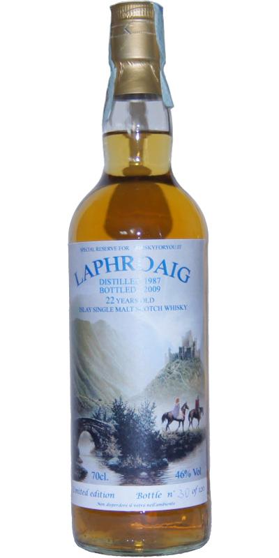 Laphroaig 1987 WFY