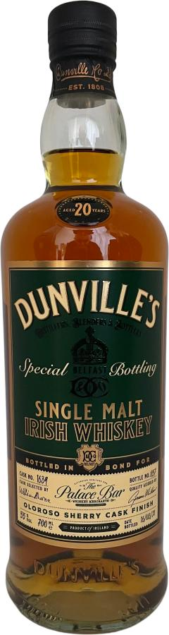 Dunville's 20-year-old Ech
